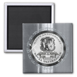 Vintage 25th Anniversary ID195 Magnet