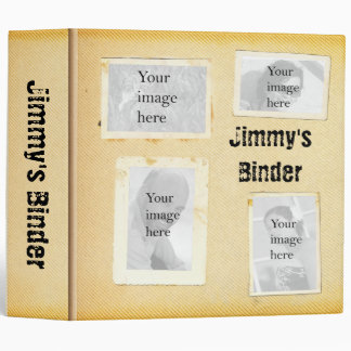 """Vintage 2"""" Binder"""