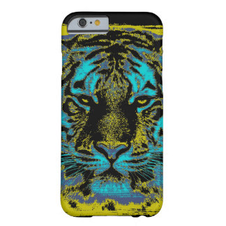 Vintage #2 del tigre funda de iPhone 6 barely there