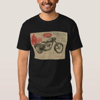 Vintage 30's Jawa Motorcycle Europe Ad T Shirt