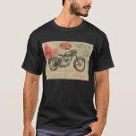 Vintage 30's Jawa Motorcycle Europe Ad T-Shirt