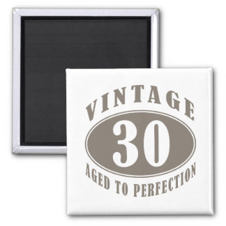 Vintage 30th Birthday Gifts 2 Inch Square Magnet