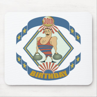 Vintage 30th Birthday Gifts Mousepad