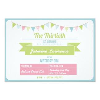 Vintage 30th Bithday Invitation
