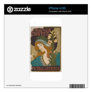 vintage #3 iPhone 4 decal