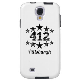 Vintage 412 Pittsburgh Galaxy S4 Case