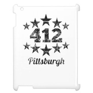 Vintage 412 Pittsburgh iPad Case