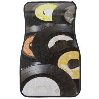 Vintage 45rpm Records Car Mat