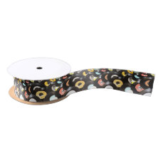 Vintage 45rpm Records Satin Ribbon