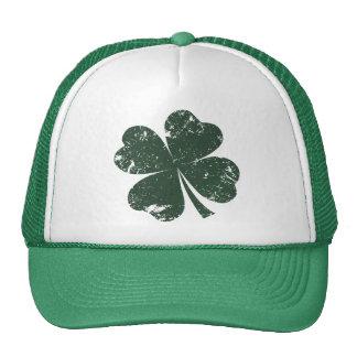 'Vintage' 4-leaf Clover Trucker Hat