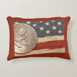 vintage 4th of july accent pillow