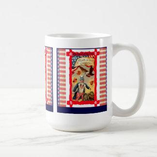 Vintage 4th of July Coffee Mug