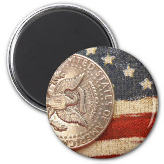 vintage 4th of july 2 inch round magnet
