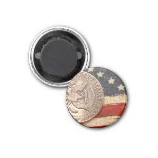 vintage 4th of july 1 inch round magnet