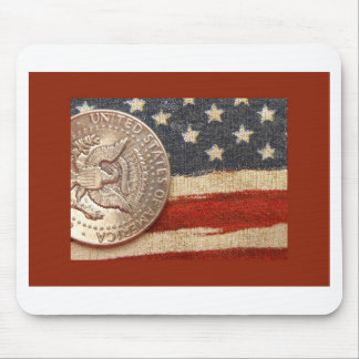vintage 4th of july mouse pad