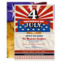 Vintage 4th of July Party Invitation