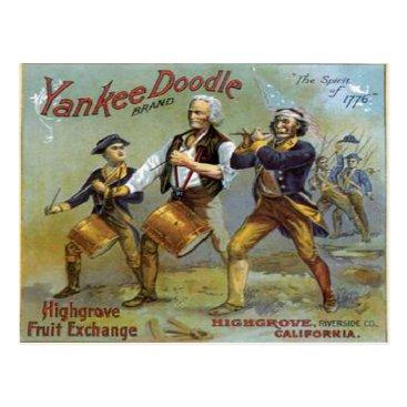 archemedes Vintage 4th of July Postcard