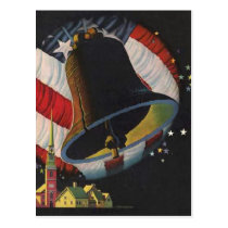 Vintage 4th of July Postcard