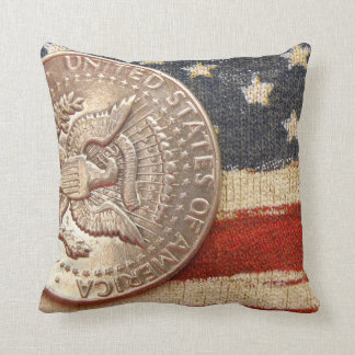 vintage 4th of july throw pillow