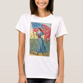 Vintage 4th of July Woman's Tee Shirt