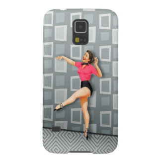 Vintage 50s Dancing Pinup Girl Case For Galaxy S5