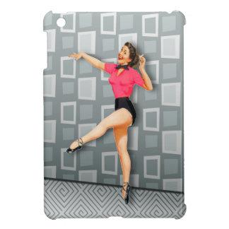 Vintage 50s Dancing Pinup Girl iPad Mini Covers