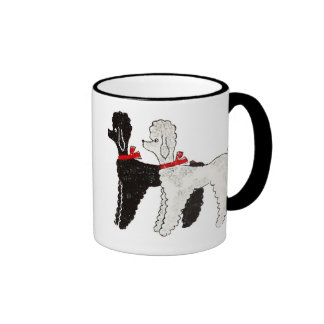 Vintage 50's Poodle Mug