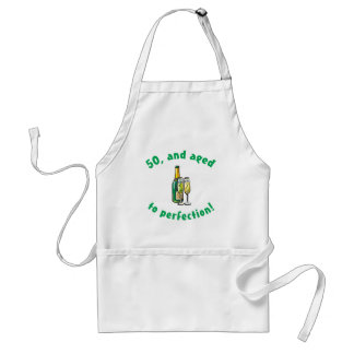 Vintage 50th Birthday Gift Adult Apron