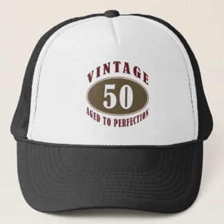 Vintage 50th Birthday Gifts For Men Trucker Hat