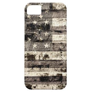 Vintage 5 de la bandera americana iPhone 5 Case-Mate protector