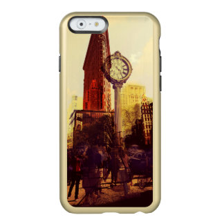 Vintage 5th Avenue flat iron building Incipio Feather Shine iPhone 6 Case