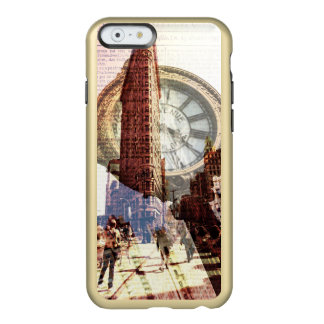Vintage 5th Avenue flat iron building Incipio Feather® Shine iPhone 6 Case