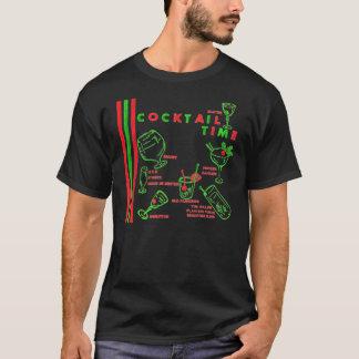 Vintage 60s Cocktail Time Napkin Art T-Shirt