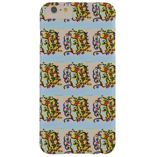 Vintage 60s peter max style profile iPhone 6 Plus Barely There iPhone 6 Plus Case