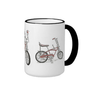 Vintage 60's Sting Ray bicycles Bike Coffee Mugs