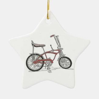 Vintage 60's Stingray Muscle Bike Bicycle Ceramic Ornament