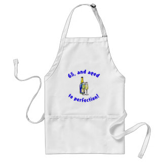 Vintage 65th Birthday Gag Gifts Adult Apron