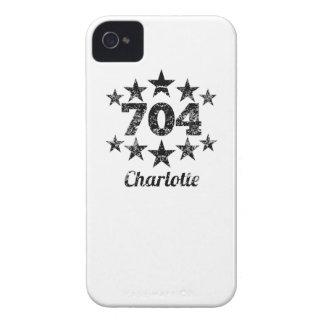 Vintage 704 Charlotte iPhone 4 Case-Mate Case