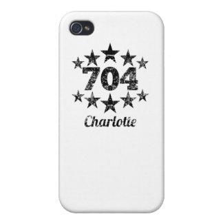 Vintage 704 Charlotte iPhone 4 Cases