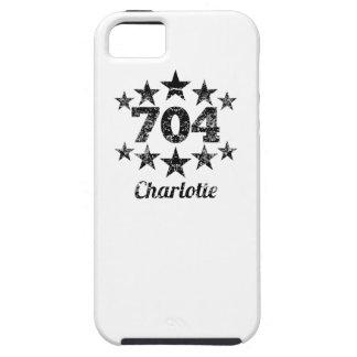 Vintage 704 Charlotte iPhone 5 Cases