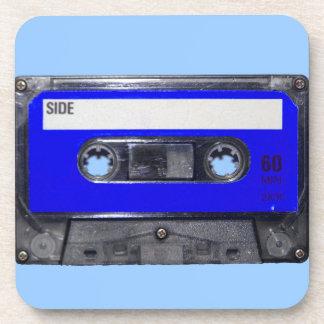 Vintage 80's Blue Label Cassette Coaster