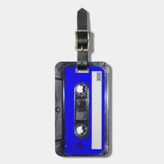 Vintage 80's Blue Label Cassette Bag Tags