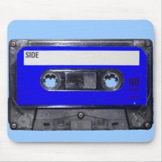 Vintage 80's Blue Label Cassette Mouse Pad