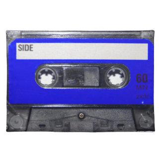 Vintage 80's Blue Label Cassette Placemat