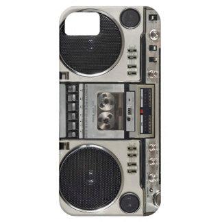 Vintage 80s Boombox Ghettoblaster iPhone 5 Fundas