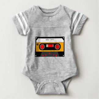 Vintage 80's Cassette Baby Bodysuit