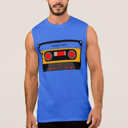 Vintage 80's Cassette Sleeveless Shirt
