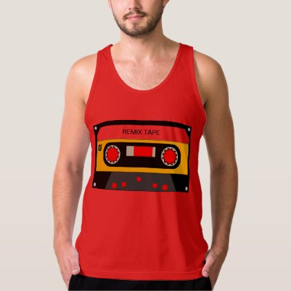 Vintage 80's Cassette Tank Top