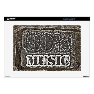 Vintage 80's Music Skin Laptop Decals