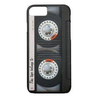 Vintage 80s Retro Music Cassette Tape Customizable iPhone 8/7 Case